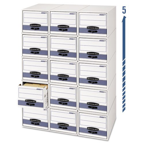 FEL00306 - Bankers Box Stor/Drawer Steel Plus Storage Box by Bankers Box