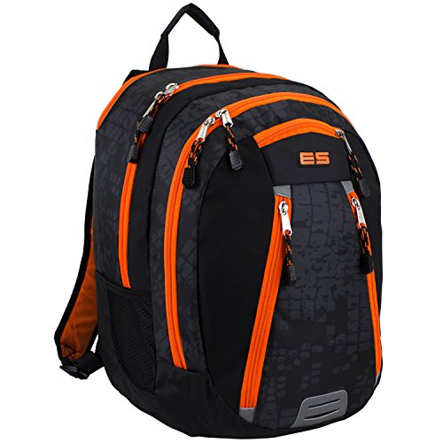 Box St4 (Eastsport Sport Backpack for School, Hiking, Travel, Climbing, Camping, Outdoors, Snake Print)