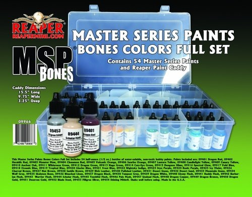 Reaper Master Series Bones Paint Complete Set