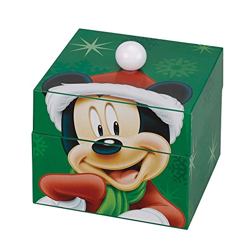 (Animated and Musical Pom Pom Music Box-Mickey Mouse )