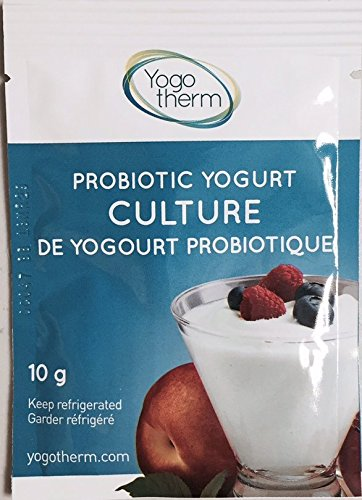 Bulgarian Probiotic Yogurt Starter Culture 3 Pack by Yogotherm