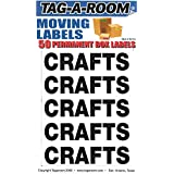 Tag-A-Room Box Content Moving Label (Crafts)