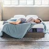 Muse Cooling Gel Memory Foam Mattress - King Size, Firm - Sleeps Cooler Than Traditional Foam - Made in USA & CertiPUR Certified