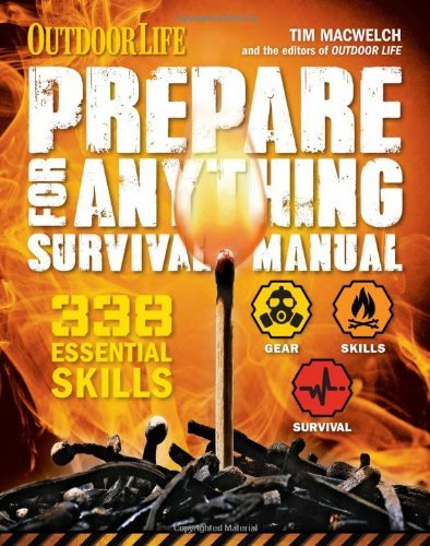 338 Essential Skills Prepare for Anything (Outdoor Life) (Paperback) - Common