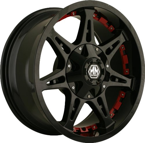 "Mayhem 8060 Wheel with Missile Black Finish (18x9""/10x150mm)"