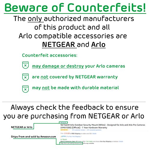 Arlo Pro by NETGEAR Security System with Siren – 3 Rechargeable Wire-Free HD Cameras with Audio | Indoor/Outdoor | Night Vision (VMS4330)