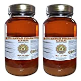 Alfalfa Liquid Extract, Organic Alfalfa (Medicago Sativa) Dried Leaf Tincture Supplement 2x32 oz Unfiltered