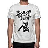 Palalula Men's Adam West Batman Robin 60s Tribute T-Shirt