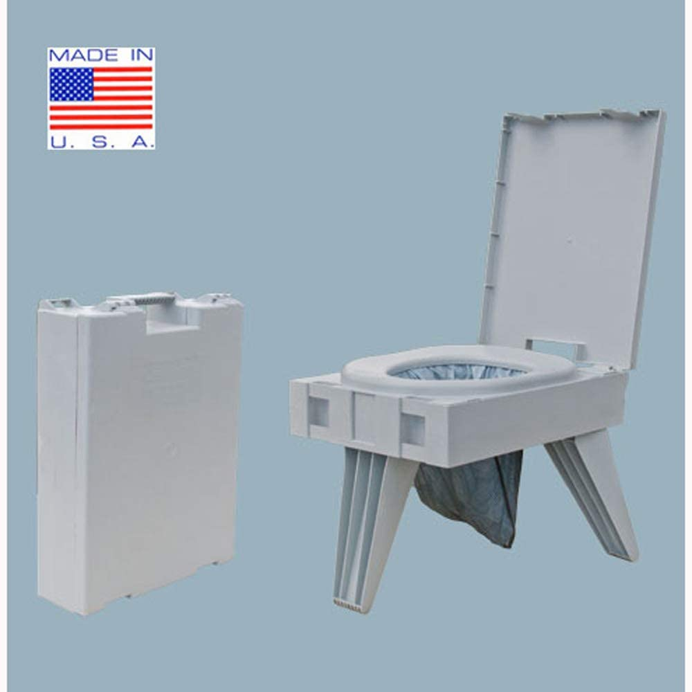 Cleanwaste Go Anywhere Portable Folding Toilet