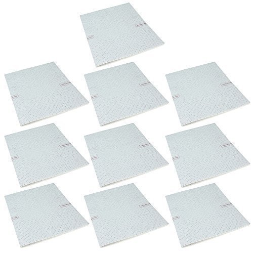 First4Spares 10 x Premium Quality Oven Cooker Extractor Hood Grease Filters For Bosch Neff Siemans 57cm x 47cm