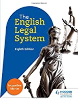 English Legal System, 8th Edition Front Cover