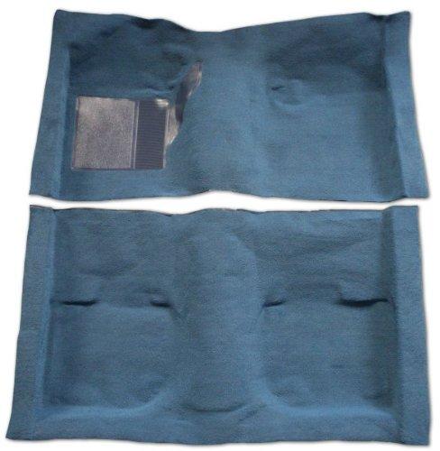 1995 to 2002 Chevrolet Blazer Carpet Replacement Kit, 4 Door Passenger Area (Mid Size) (801-Black Cut Pile)