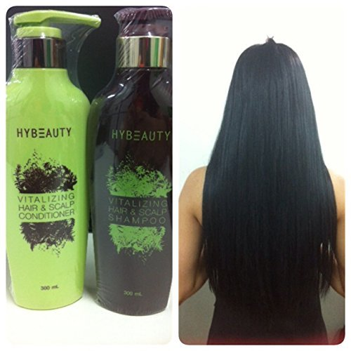 1 Set of Hybeauty Vitalizing Hair & Scalp Shampoo & Conditioner 300 ml.with tracking& gift