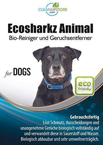 produit nettoyant et eliminateur d odeur bio pour chiens ecosharkz animal spray d 233 sodorisant