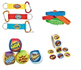 Super Hero Action Party Pack for 12, Includes 12