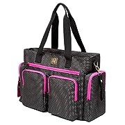 Versatile Tote Diaper Bag - Roomy Travel Bag For Moms – Spacious Stroller Organizer