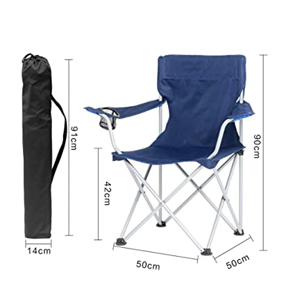 HCFSUK Sillas de Playa Plegable Camping al Aire Libre ...