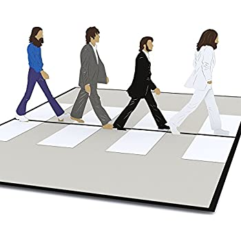 Lovepop The Beatles Abbey Road Pop Up Card