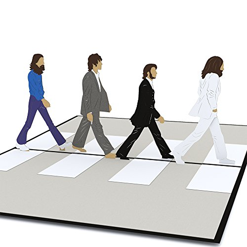 Lovepop The Beatles Abbey Road Pop Up Card, Birthday Card, 3D Card, Greeting Card by Lovepop