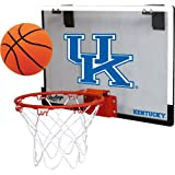 NCAA Kentucky Wildcats Game On Hoopset, 18'' x 12'', Blue