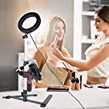 """B-Land 5.7"""" Ring Light with Desktop Stand for"""