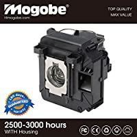 Mogobe For ELPLP68 Replacement Projector Lamp with Housing for EH-TW5900 EH-TW5910 EH-TW6000 EH-TW6000W EH-TW6100 PowerLite Home Cinema 3010 HC3010e 3020 3D 3020e 3D by
