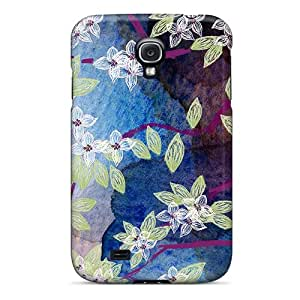 New Style Welchmoibe1999 Spring Sakura Abstract Premium Tpu Covers Cases For Galaxy S4