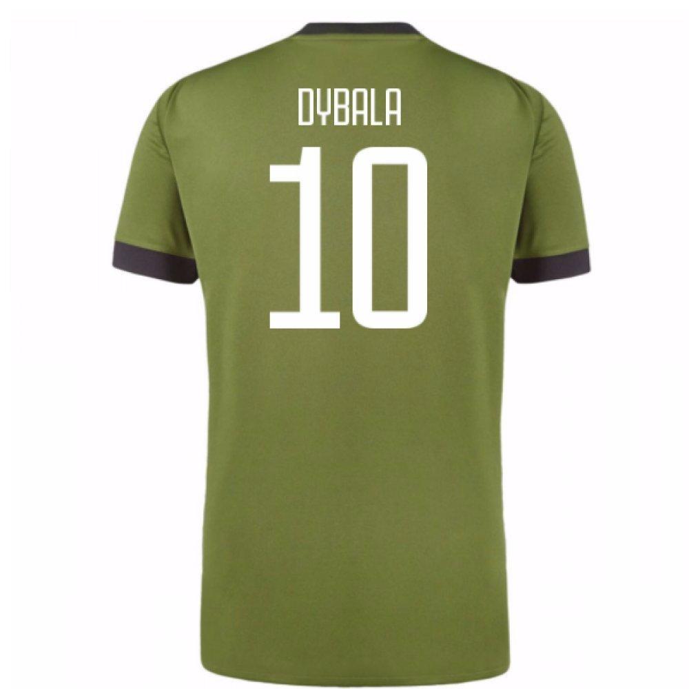 2017-18 Juventus Third Shirt (Dybala 10) Kids B077W93ZSV Small Boys 26-28