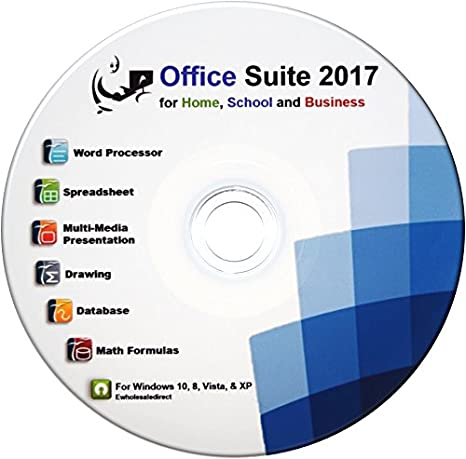 Amazon.com: Office Suite 2017 Professional CD Compatible with ...
