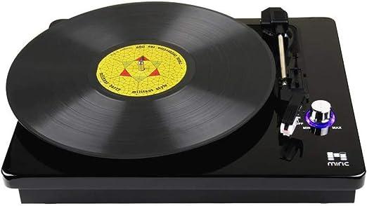 HYLH Reproductor de Discos de Vinilo, Tocadiscos portátiles de ...