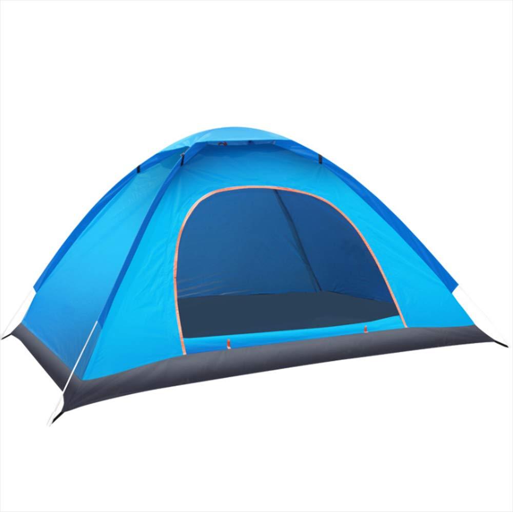 Keoa [2018 Geschwindigkeit Öffnen Zelt Im Freien Doppel Reise Zelt Angeln Zelt Große Kapazität Leichte Wasserdichte UV Schutz,Blau