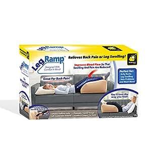 Amazon.com: BulbHead Rampa de pierna inflable cuña almohada ...