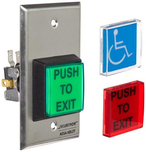 Securitron Push Button (Securitron Single Gang 2