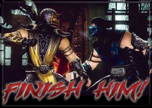 Amazon Com Mortal Kombat Scorpion And Sub Zero Finish Him