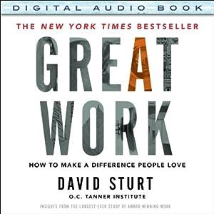 Great Work Audiobook