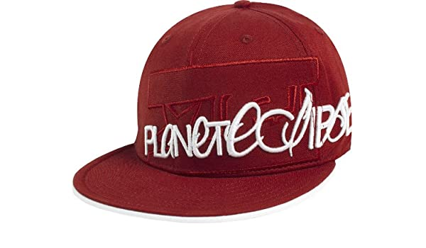 537f93d81efc2 Amazon.com   Planet Eclipse Signature Hat - Red - S M   Paintball Apparel    Sports   Outdoors
