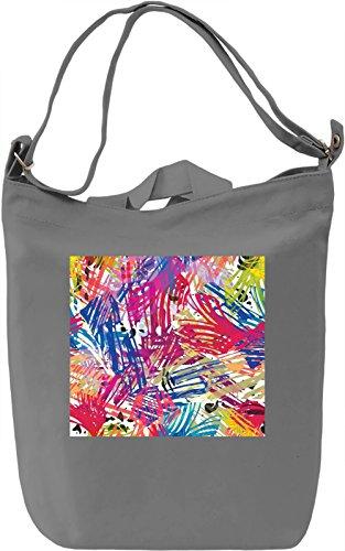 Modern Art Texture Borsa Giornaliera Canvas Canvas Day Bag| 100% Premium Cotton Canvas| DTG Printing|