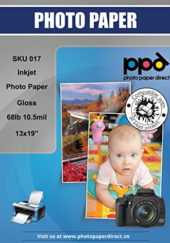 PPD Inkjet Glossy Super Premium Photo Paper A3+ 280gsm x 20 Sheets PPD-17-20