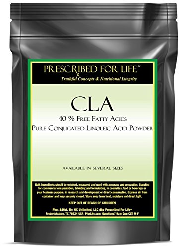 CLA - 40% Free Fatty Acids - Pure Conjugated Linoleic Acid Powder, 2.5 lb