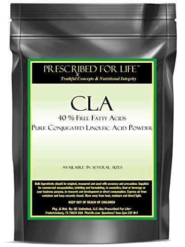 CLA - 40% Free Fatty Acids - Pure Conjugated Linoleic Acid Powder, 2.5 lb