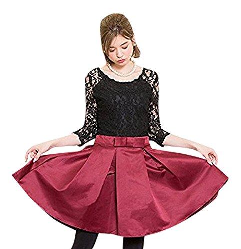 風が強い自伝責め(ノーブランド品) ワンピース ワンピ フレア フレアスカート ハイウエスト ハイウエストスカート レディース お呼ばれスタイル パーティー ドレス