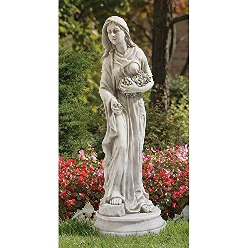 Design Toscano Persephone Maiden of the Roses Garden Statue, Antique Stone ()