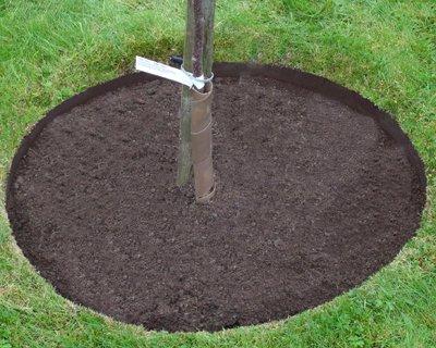 EVEREDGE 4 FT. DIA. 4-PIECE TREE RING