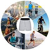 REYSHIONWA Men's Workout Running Shorts 5 Inch