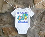 Spongebob Squarepants Birthday Shirt, Spongebob Squarepants Birthday Shirt For Girls, Personalized Girls Spongebob Squarepants Birthday Shirt, Customized Spongebob Squarepants Birthday Shirt