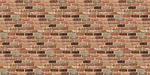 Fadeless  Bulletin Board Art Paper, Reclaimed Brick,  48