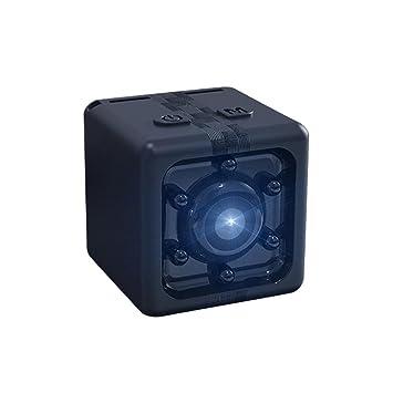 Teepao Mini Video Cámara oculta, 1080P portátil pequeña HD Nanny Cam con visión nocturna y