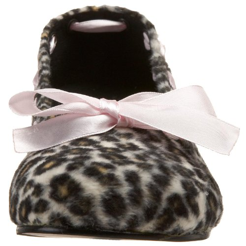 Daisy Fur Brown Ballerine 20 Cheetah Demonia Donna RYxwUq6dU