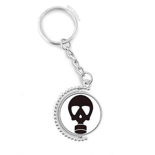 DIYthinker Esqueleto Humano Contaminación Gas máscara del ...
