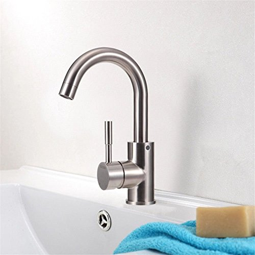 Gyps Faucet Basin Mixer Tap Waterfall Faucet Antique Bathroom Basin-tray faucet brushed hot and cold water washing hands after washing your face,Modern Bath Mixer Tap Bathroom Tub Lever Faucet